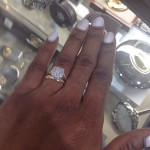 Former BBA Winner Karen Igho Is Off The Market!? Shows Off Engagement Ring