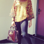 Photos: Rita Dominic Looks Rad in Afrocentric Outfit