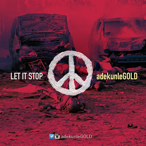 AdekunleGOLD - Let It Stop-ART