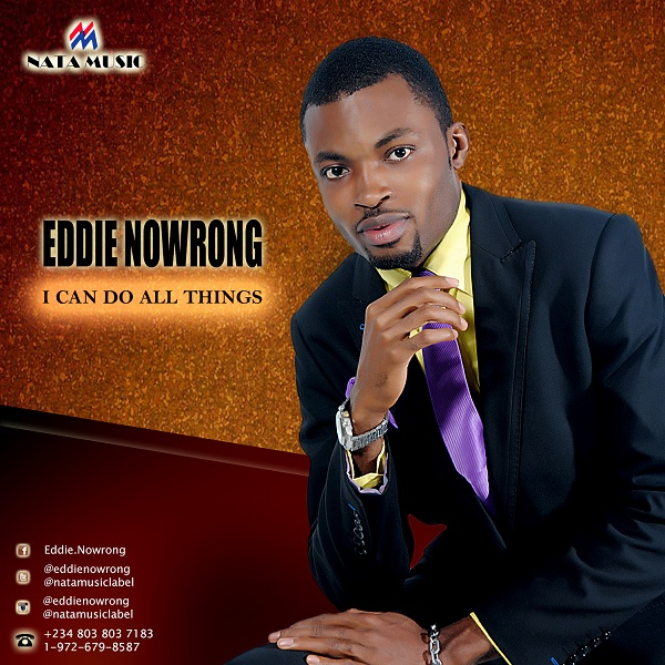 Artwork - Eddie Nowrong - I Can Do All Things [ART]