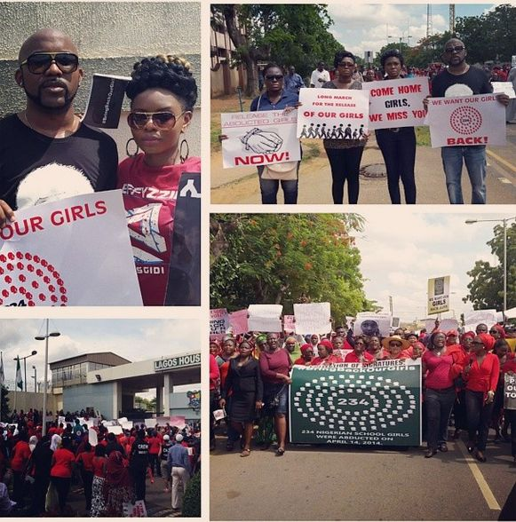 BringBackOurGirls-Lagos-Match2