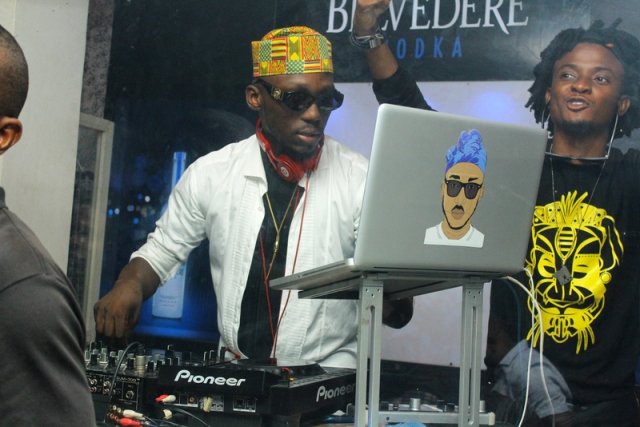 DJ Spinall and Ehiz