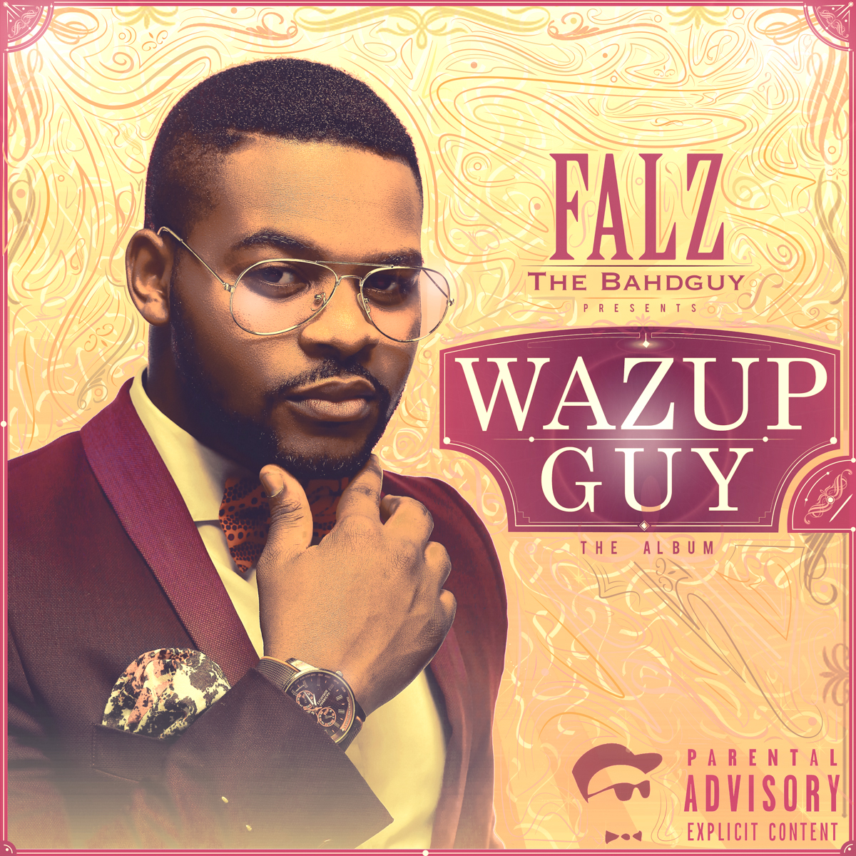 Falz - Wazup Guy Cover ART