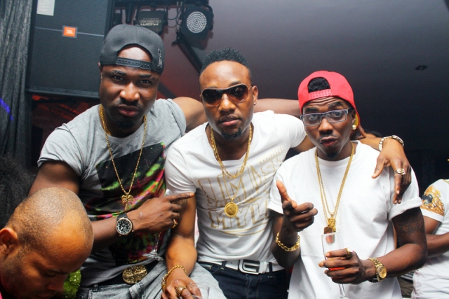 Harrysong, KCee and guest