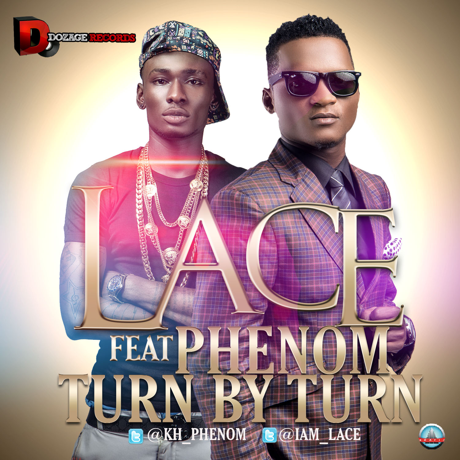 LACE - TURN BY TURN-ART [FRONT]