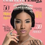 Anna Ebiere Banner & Praiz Cover Complete Fashion Magazine June 2014 Issue