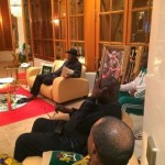 Congratulations Super Eagles + View photos of GEJ watching the match