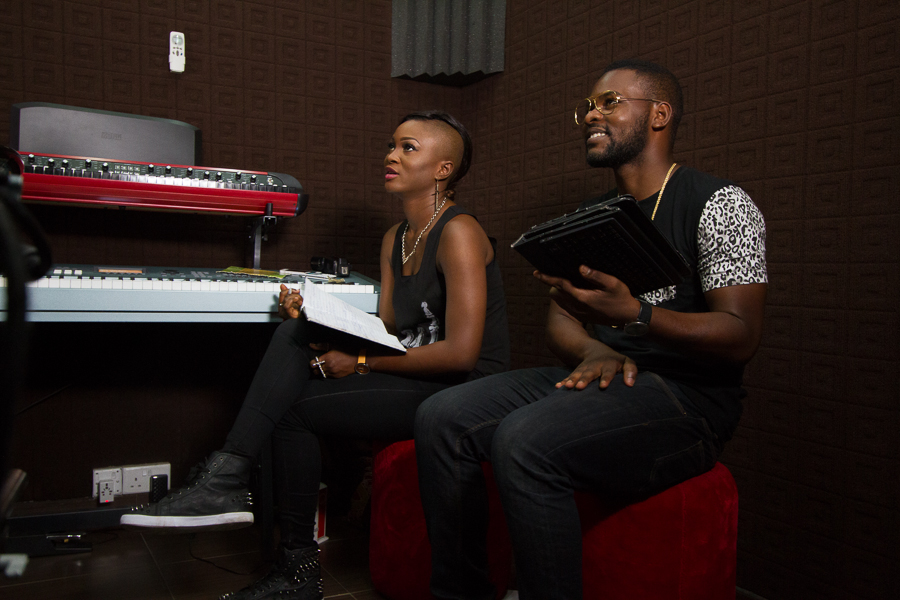 Eva and Falz