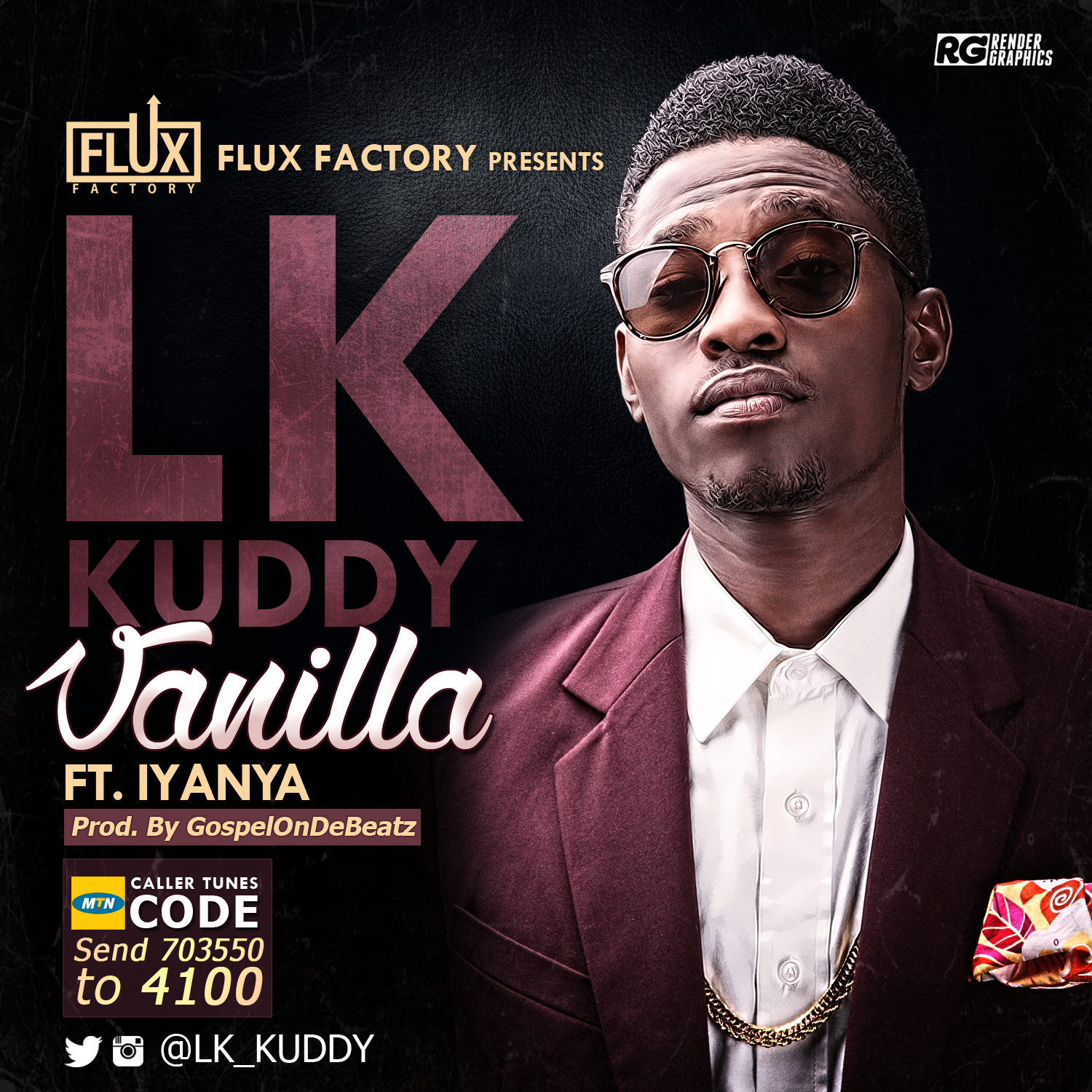 LK Kuddy - Vanilla ft. Iyanya-ART