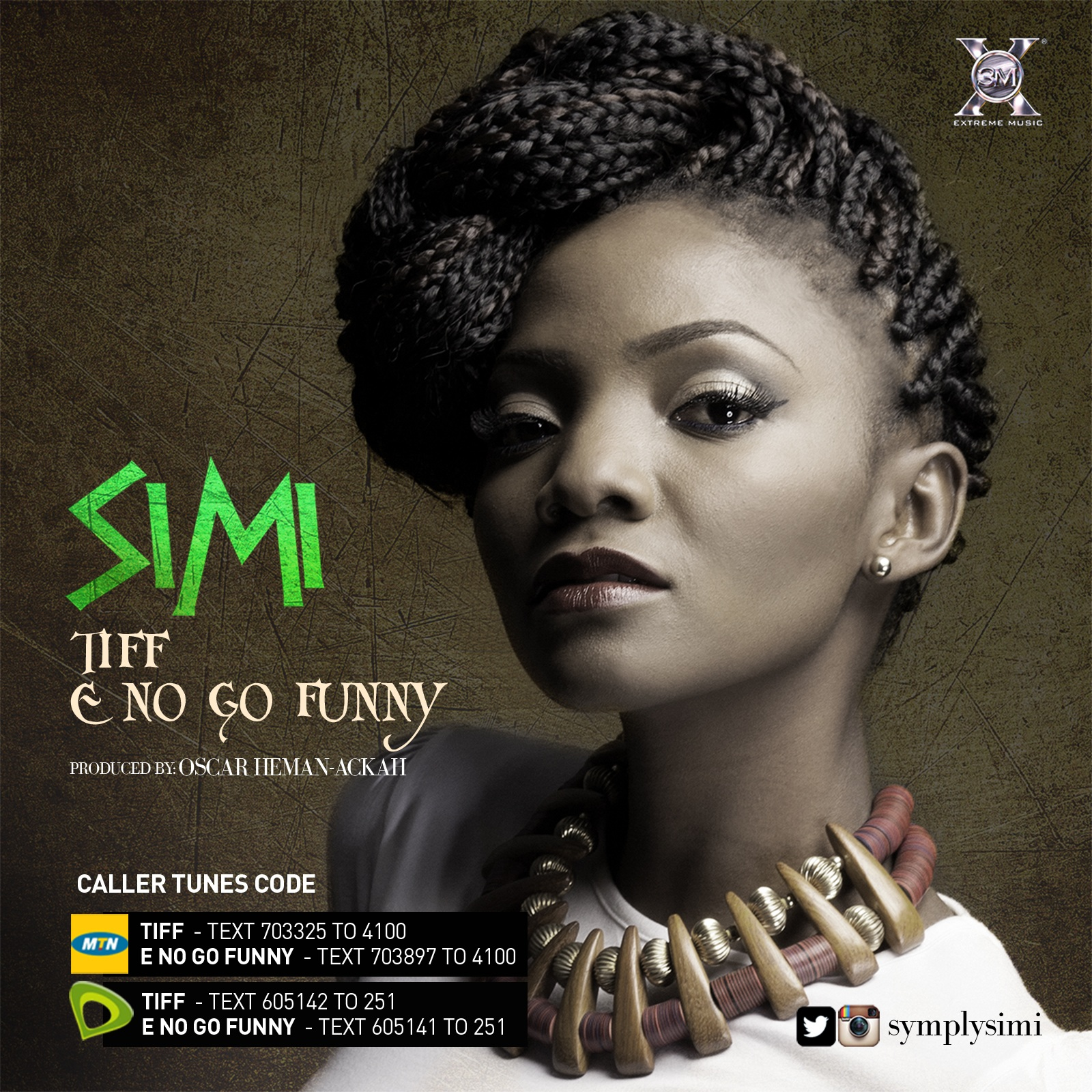 Simi - E No Go Good + Tiff-ART