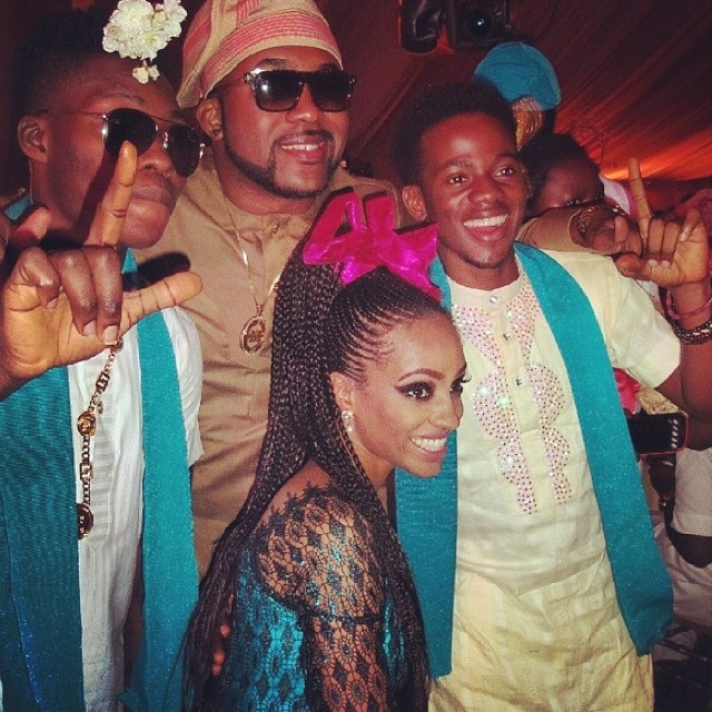 Banky, Korede Bello and Dija