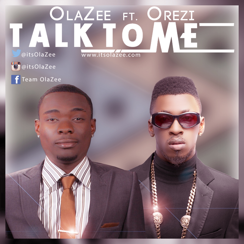 OlaZee ft. Orezi - TALK TO ME [prod. by Chimbalin] Artwork