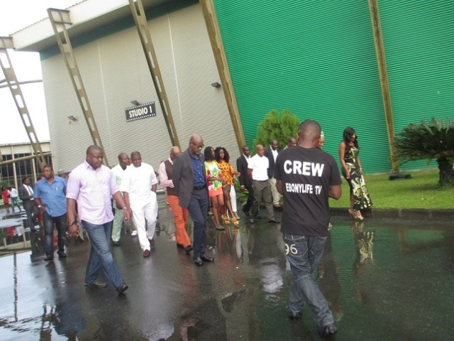 Studio Tour with the Governor of Cross River State