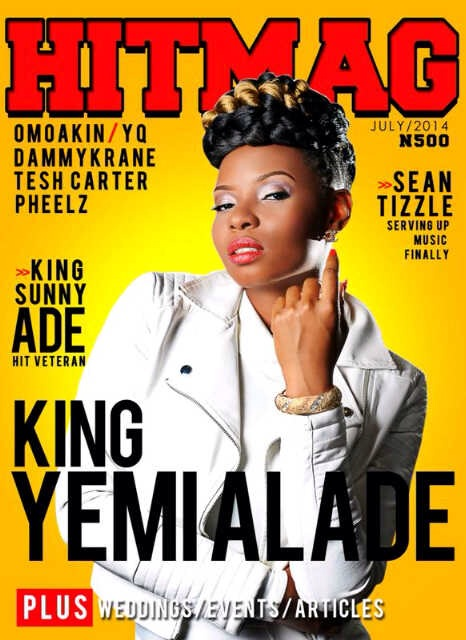 Yemi Alade-HitMag-July-Cover