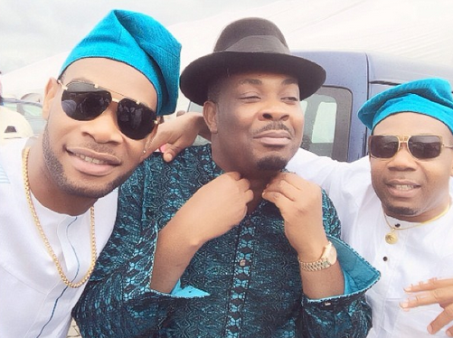 D'Prince, Don Jazzy and Guest
