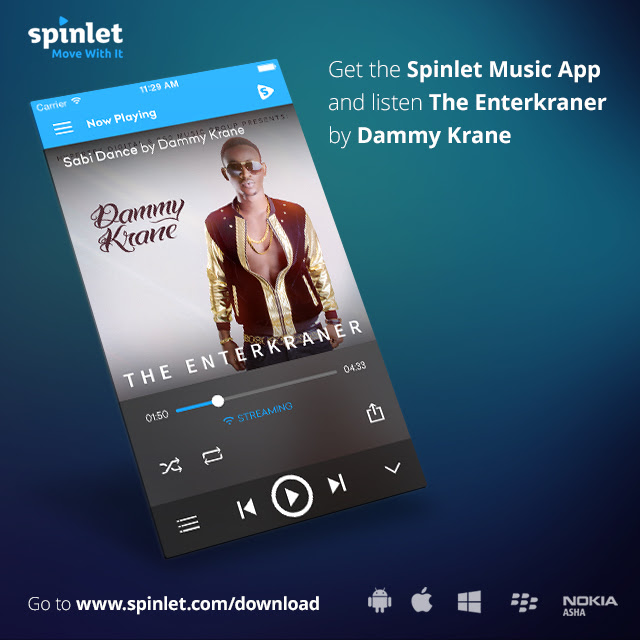 Dammy Krane The enterkraner Spinlet