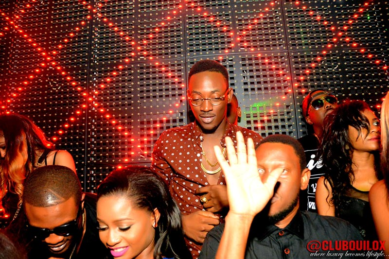 Dammy Krane and guest