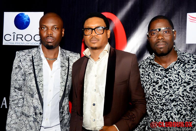 Fatai Atere, Shina Peller and Moshood Lawal