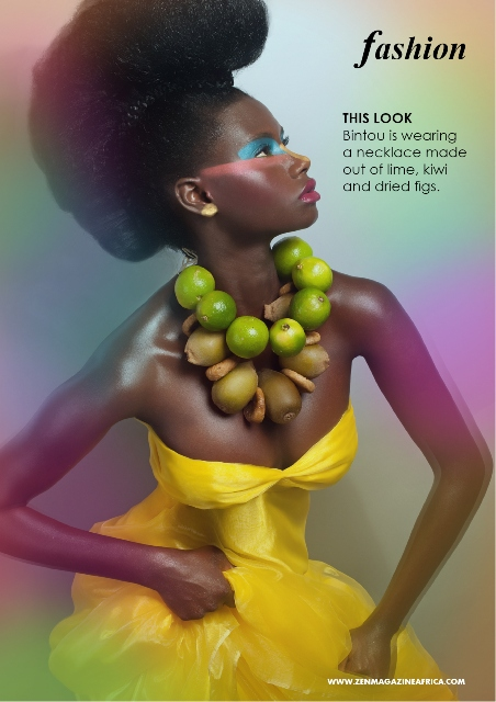 Fruity+necklaces+bold+makeup+Yvonne+Van+dalen+Zen+Magazine (6)