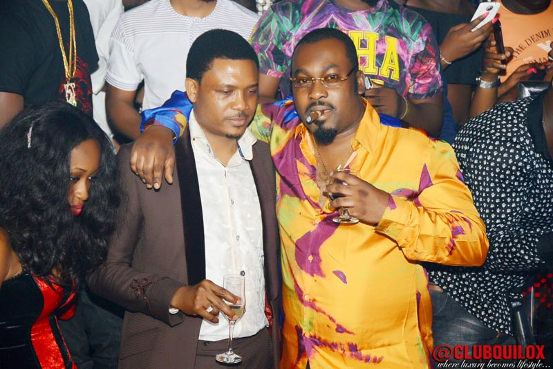 Gbenga Islander and Shina Peller