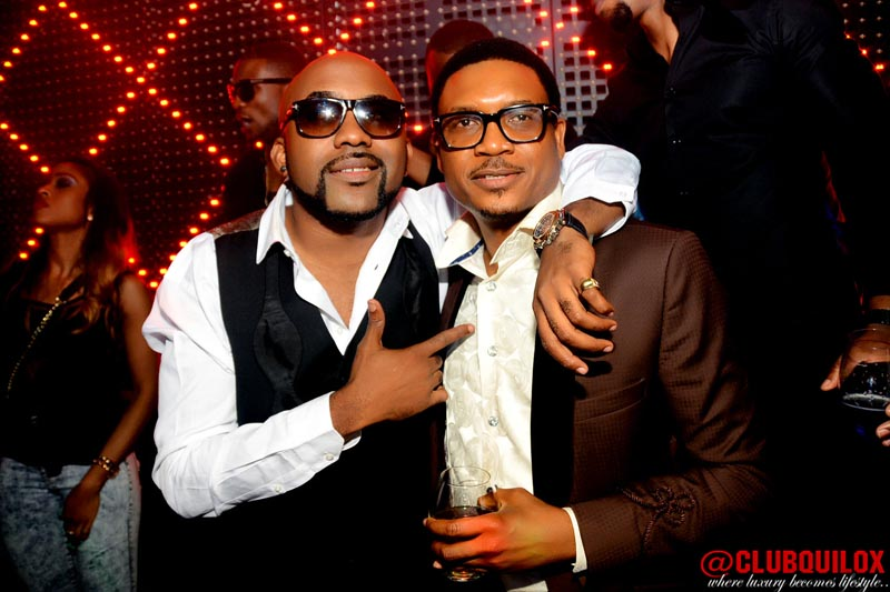 Shina Peller and Banky W (2)