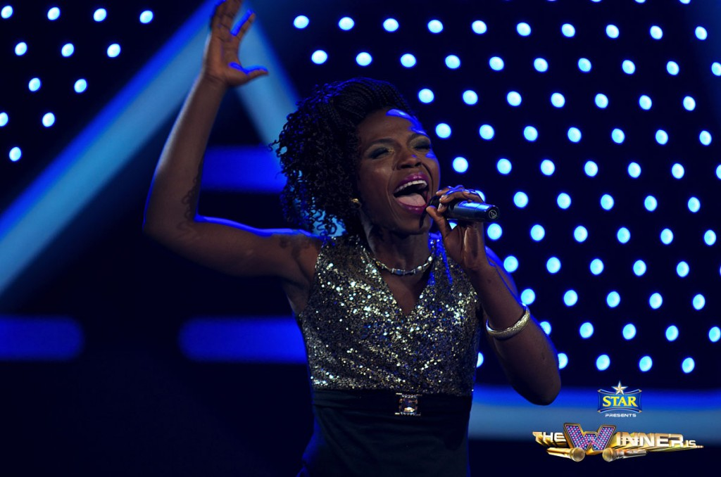WINNER OF THE NIGHT- HAPPINESS AYOMIDE