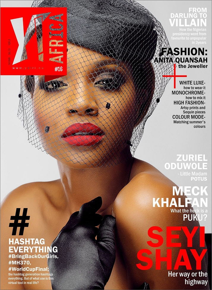 Y! Africa Seyi Shay's Cover