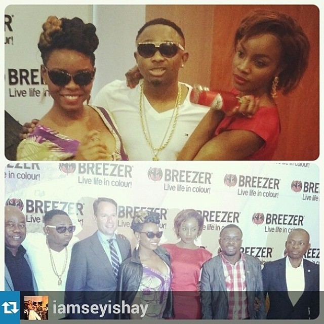 Yemi Alade, Seyi Shay and Sean Tizzle For Bacard