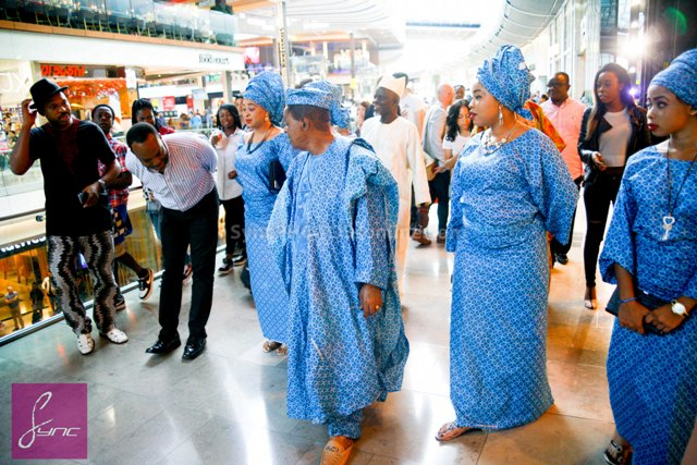 _MG_0682 Alaafin of Oyo_Oba Lamidi Olayiwola  Wives_Westfield London 3Sep14